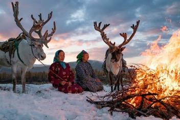 Winter retreat 'De glacial blue'